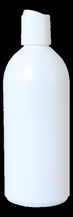 Käyttöliuospullo 500 ml, valkoinen