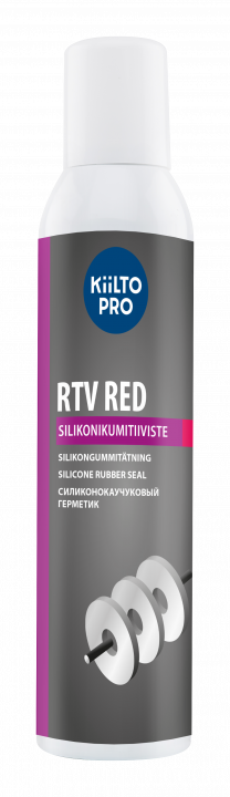 Rtv Red, Silikoni Punainen Etikaton