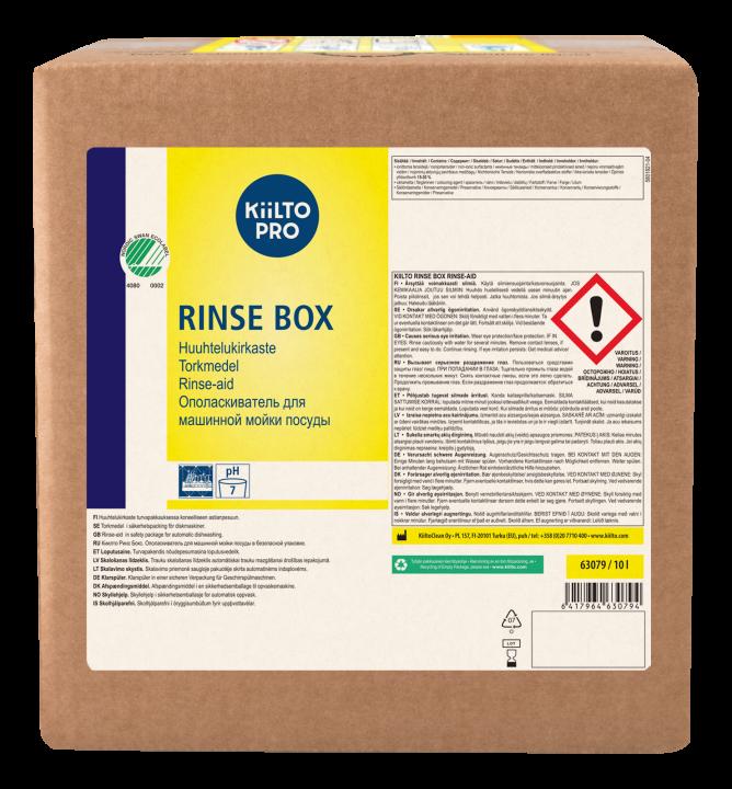 Kiilto Rinse Box Rinse-aid