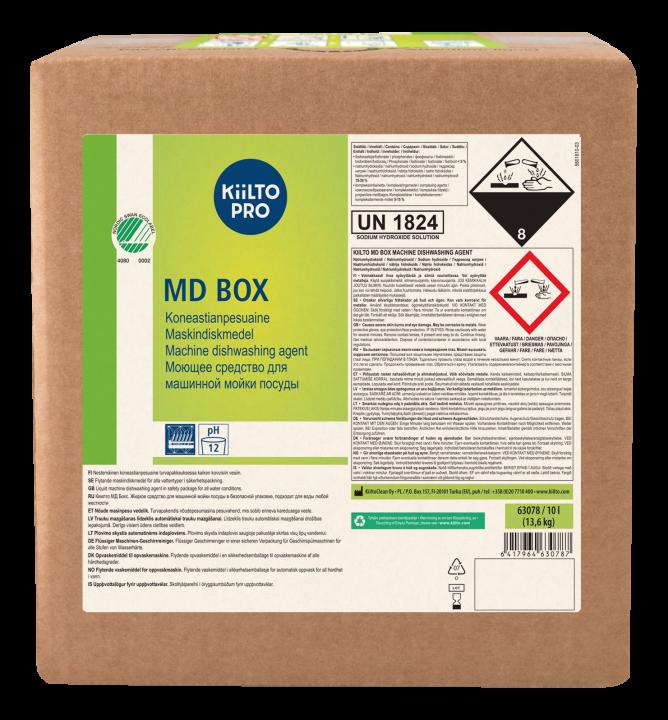 Kiilto MD Box Machine Dishwashing Agent