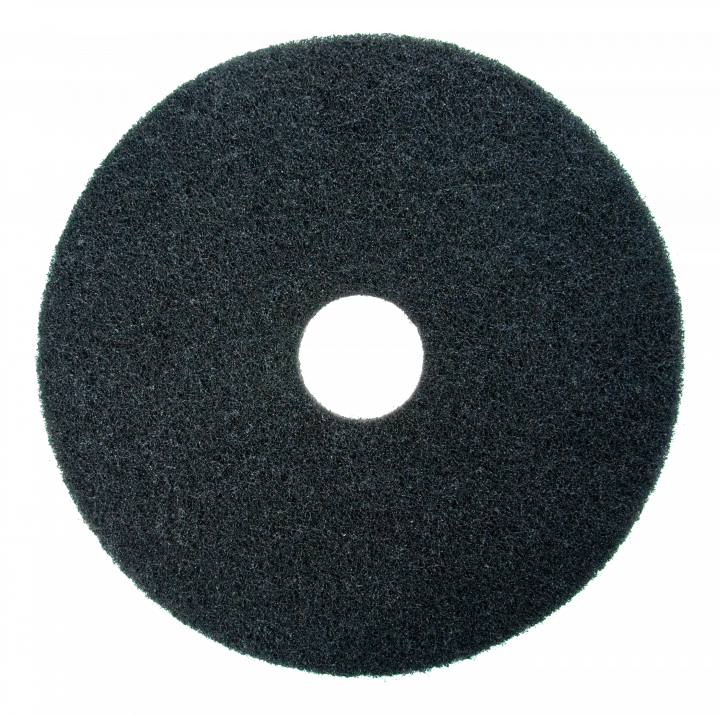 Scotch-Brite stripping pad, black