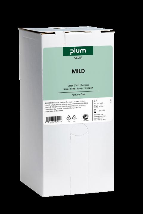 Plum Mild håndsåpe 1400 ml Bag-in-Box