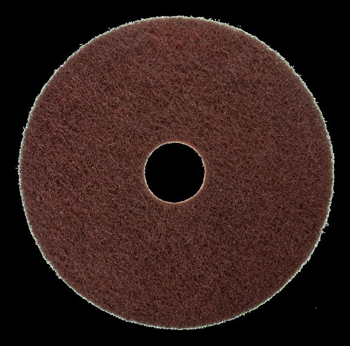 Scotch-Brite stripping pad, brown
