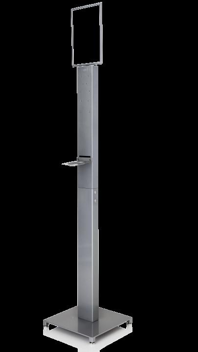 Antibac® Gulvstativ i stål