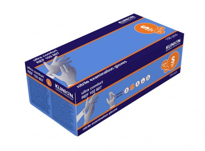 Klinion Ultra Comfort ühekordsed nitriilkindad