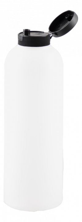 Käyttöliuospullo 500 ml, kirkas