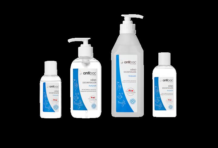 Antibac® Pharma Hånddesinfeksjon 85% gel