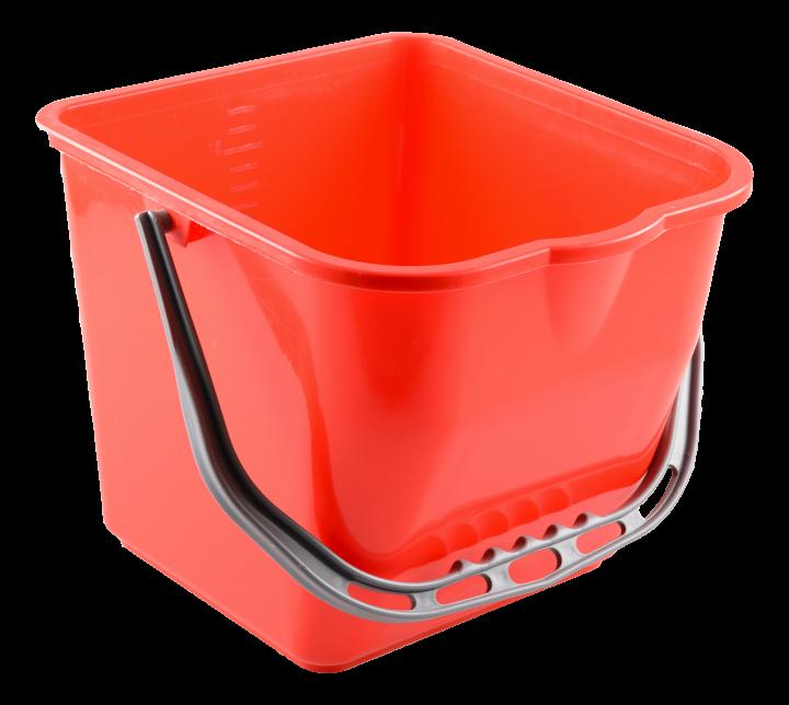 Muovisanko kaatonokalla, punainen