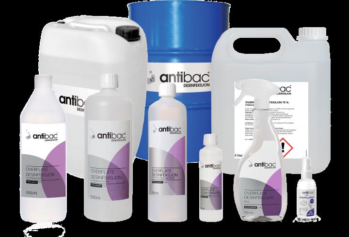 Antibac® Overflatedesinfeksjon 75%