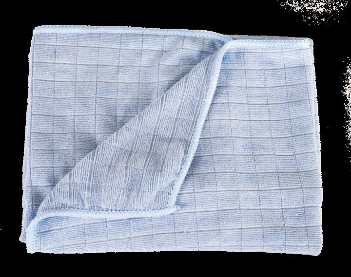 Microfiber floor cloth, waffle textured