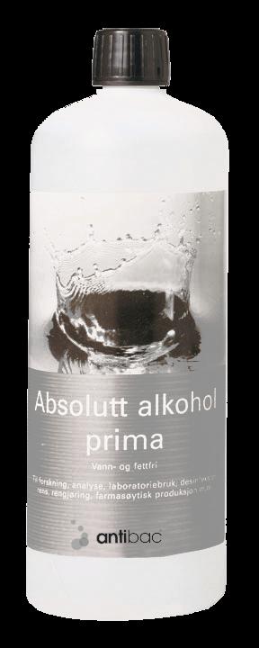 Absolutt alkohol prima 99,9% 1 liter