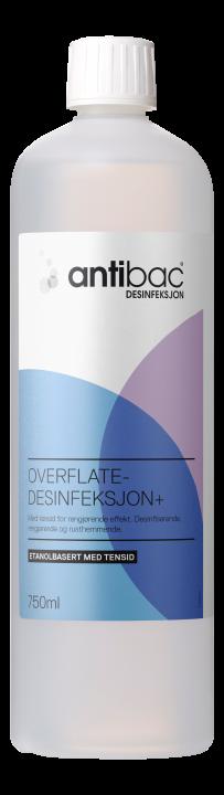 Antibac®  Overflatedesinfeksjon + med tensid