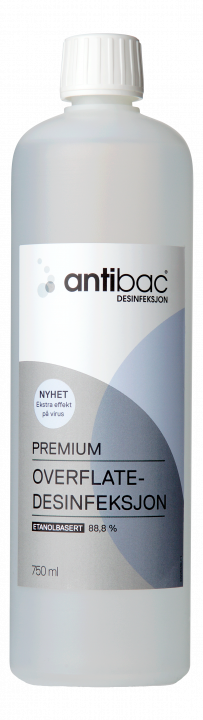 Antibac®  Overflatedesinfeksjon 88,8% Premium