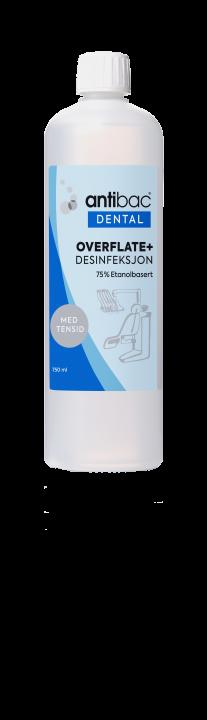 Antibac®  Dental Overflatedesinfeksjon+ 75% med tensid