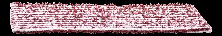 Sappax tube cloth, red/white