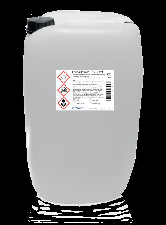 Formaldehyd 35% bufret/konsentrert formalin 20 liter