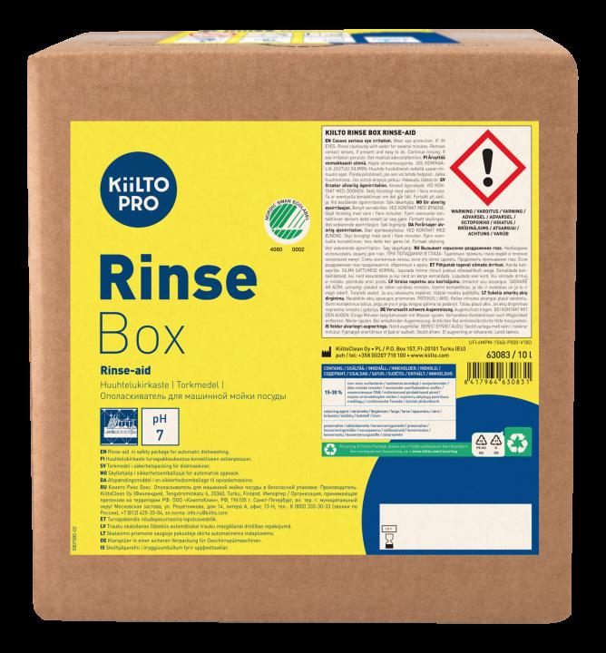 Kiilto Rinse Box Torkmedel
