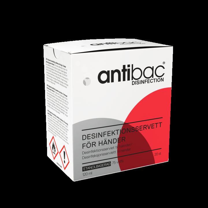 Antibac Desinfektionsservett för händer
