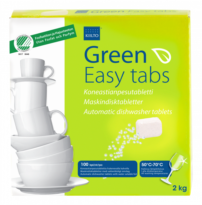 Kiilto Green Easy Tabs