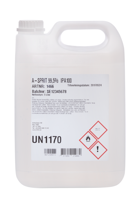 A-sprit 99,5% 5 liter IPA100
