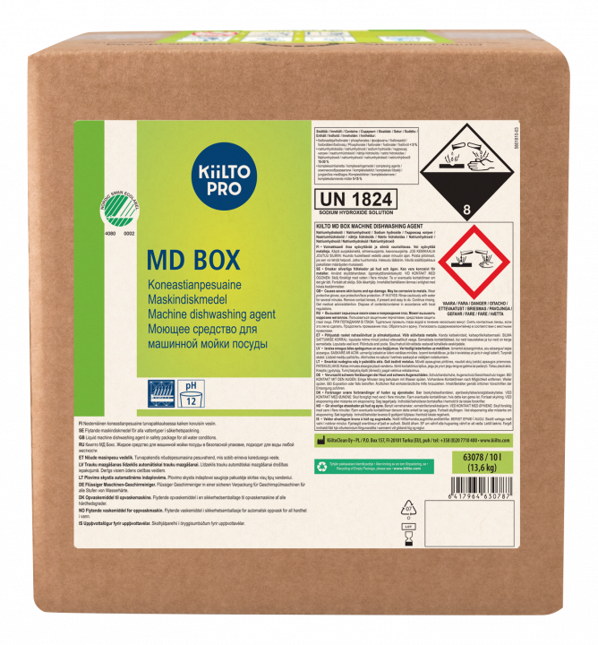 Kiilto MD Box Maskindiskmedel