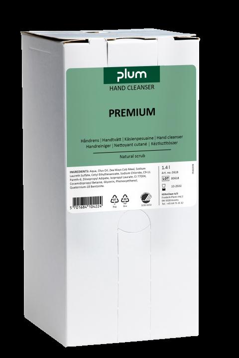 Plum Premium håndrens Bag-in-Box 1400 ml