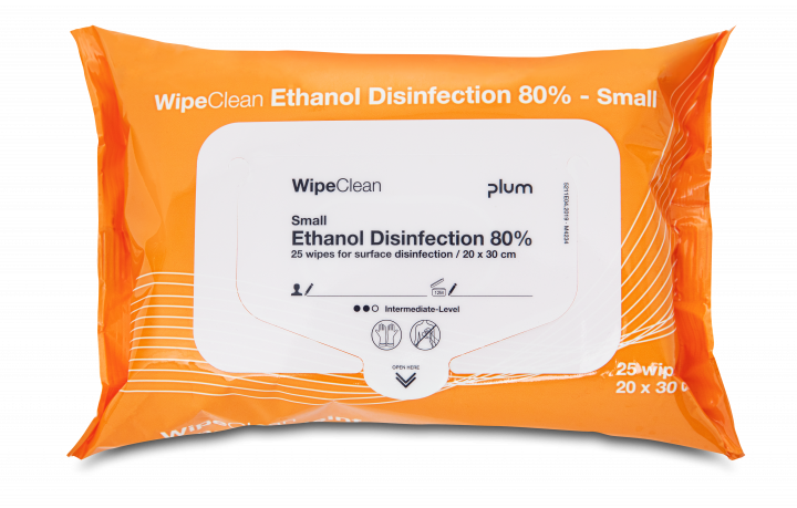 WipeClean Etanol Desinfection 80%