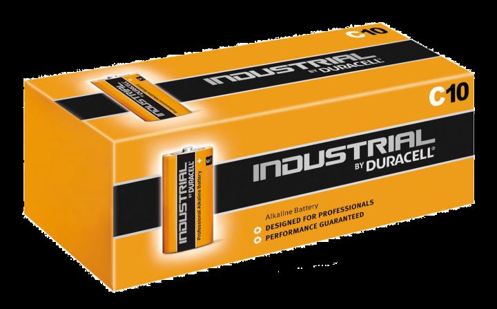 Duracell Industrial LR14/C batterier 10 pk