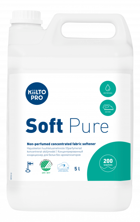 Kiilto Soft Pure Non-perfumed Fabric Softener