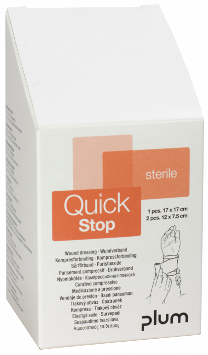 QuickStop Sårförbandsett 3 st