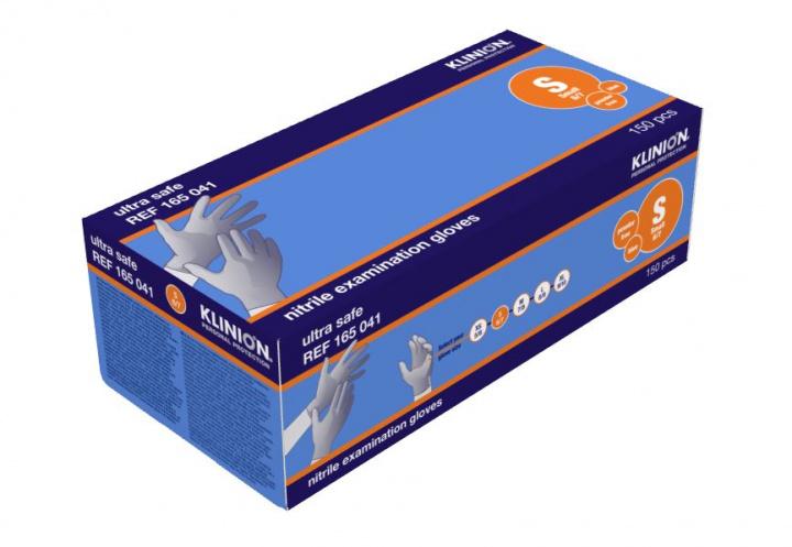 Klinion Ultra Safe ühekordsed nitriilkindad