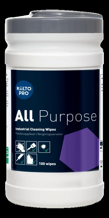 Kiilto Pro All Purpose Wipes 100kpl