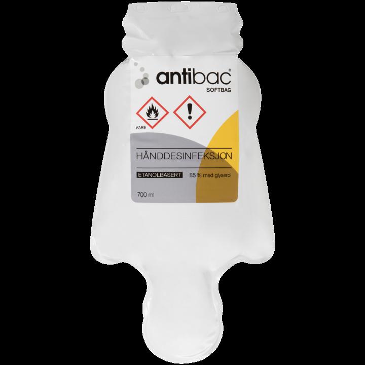 Antibac® Hånddesinfeksjon 85% flytende softbag